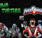 Ninja Turtles Vs Power Rangers