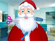Santa at Beard Salon