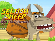 Selfish Sheep-Spot the difference