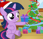 Twilight Sparkle Christmas Day